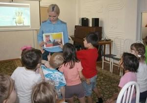 В Саяногорске пожарные провели урок в детском реабилитационном центре