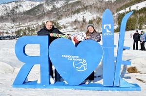 В Саяногорске более 500 человек приняли участие в зимнем празднике
