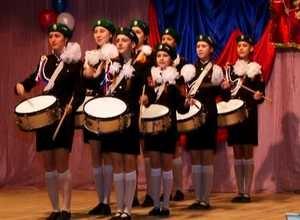 Саяногорские кадеты дали концерт в Майна