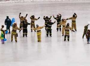 Саяногорские пожарные «ЗА» здоровый образ жизни