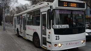 Абаканские троллейбусы оборудуют мониторами