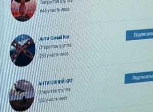 «Группам смерти» в соцсетях, объявлена война