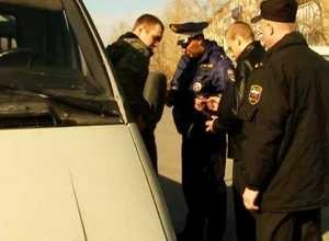 На улицы Саяногорска вышел «Дорожный пристав»