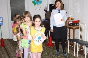 В Хакасии детям с ограниченными возможностями рассказали о правилах дорожного движения