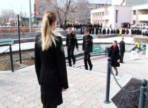 В Саяногорске прошла первая репетиция «Парада Победы»