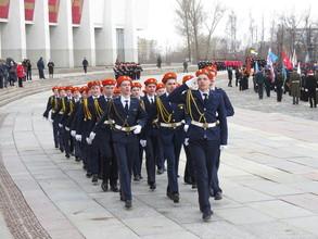 Кадеты Саяногорска представили Хакасию на Всероссийском сборе