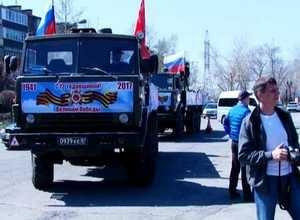 Саяногорск внес свою лепту памяти в Автопробег Победы