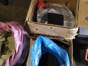 Полицейские обнаружили на продуктовой базе в Абакане 200 кг насвая