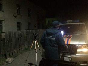 В Аскизе ночью 9 мая обрушился двухэтажный жилой дом