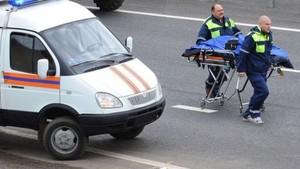 На трассе в Хакасии столкнулись КамАЗ и легковушка