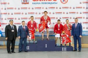 Хакасский самбист стал победителем всероссийского турнира