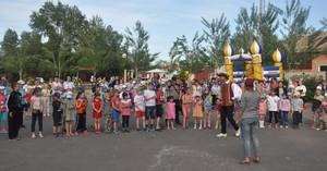 В Абакане Нижняя Согра отпраздновала День защиты детей