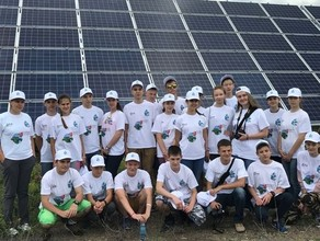 Школьники пройдут квест на крупнейшей в Сибири солнечной электростанции