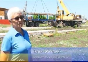 В поселке КСРЗ продолжается строительство парка