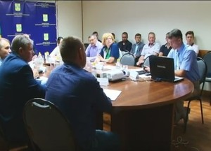 В Саяногорске прошло заседание совета по реализации программы развития моногорода Саяногорска