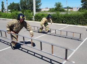 Лучшие пожарные МЧС России служат и работают в Саяногорске