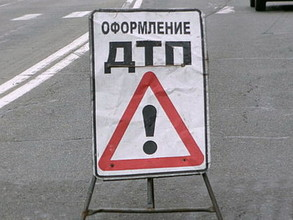 В Саяногорске при столкновении с автобусом пострадал водитель легковушки