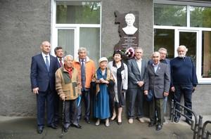 В Хакасии открыли мемориальную доску организатору первых Съездов хакасского народа Степану Майнагашеву