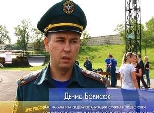 В Саяногорске огнеборцы Хакасии определили сильнейших легкоатлетов