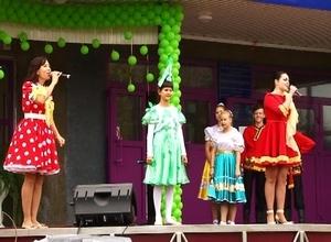 В Саяногорске прошел первый фестиваль детского творчества «Зеленый горошек»