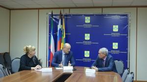 Министр здравоохранения Хакасии провел рабочую встречу с главой Саяногорска