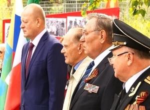 В Саяногорске заложили камень на месте будущего памятника Детям войны