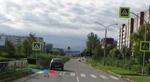 В Саяногорске на «зебре» сбили пешехода