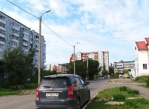 Часть 10 микрорайона Саяногорска осветили за счет РУСАЛа