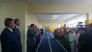 В Саяногорске открылась обновленная спортивная школа
