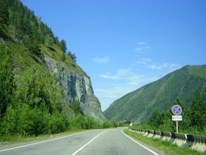 Вниманию водителей! На трассе Саяногорск-Черемушки произошел сход скального грунта
