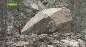 Камнепад может повториться на трассе под Саяногорском