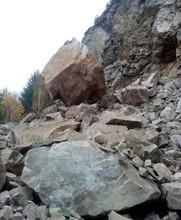 В Саяногорске введен режим ЧС из-за угрозы падения скал