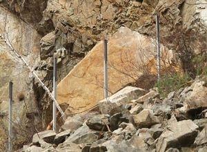 На месте камнепада в Саяногорске начались работы по расчистке склона