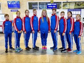 Сборная Хакасии вылетела в Крым для участия в фестивале ГТО
