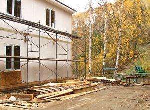 Горнолыжный комплекс в Черемушках продолжает строиться