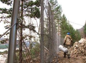 В Саяногорске на месте камнепада продолжаются работы