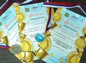 Саяногорский морж завоевал 4 награды на Кубке Сибири