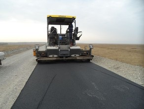 В Хакасии продолжается ремонт автодороги Абакан - Саяногорск