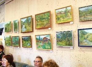 В честь Дня народного единства и Дня рождения города в Черемушках открылась выставка картин