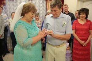 В год 100-летия образования органов ЗАГС в Саяногорске чествовали юбиляров