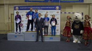Серебро и бронза всероссийских соревнований по вольной борьбе у спортсменок из Хакасии