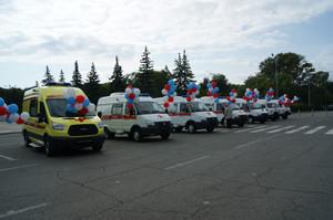 Хакасия получит факультативно цифра санитарных автомобилей