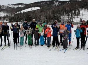 Саяногорск предпочел лыжные гонки новогоднему застолью