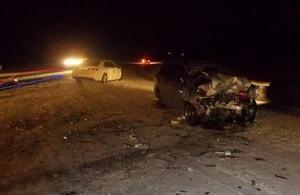 В Хакасии 26-летний водитель иномарки впал в кому после ДТП