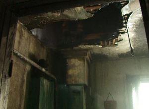 Сильный ветер в Саяногорске спровоцировал пожар