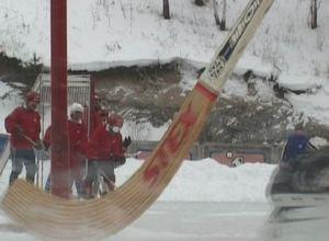 «Энергия» из Черемушек пока набрала 3 очка в Чемпионате Хакасии по хоккею с мячом
