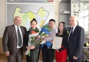 В Хакасии вручили 38-тысячный сертификат на материнский капитал
