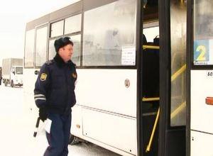 Водителей пассажирских маршрутов проверяют на дорогах Саяногорска