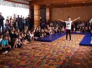В Саяногорске прошло первое акробатическое первенство