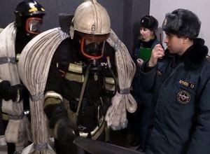 Саяногорские огнеборцы покорили «Вертикаль»